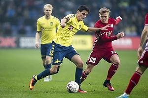 Christian N�rgaard (Br�ndby IF), Bror Blume (Lyngby BK)
