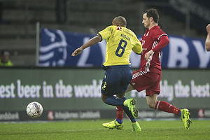 Rodolph William Austin (Br�ndby IF), Uidentificeret person (Lyngby BK)