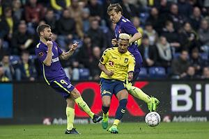 Janus Drachmann (FC Midtjylland), Hany Mukhtar (Br�ndby IF)