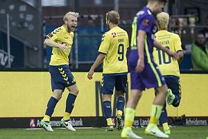 Johan Larsson, m�lscorer (Br�ndby IF), Teemu Pukki (Br�ndby IF)