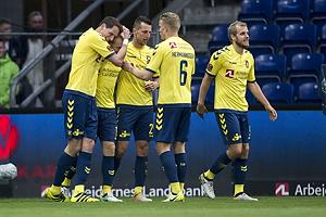 Benedikt R�cker (Br�ndby IF), Johan Larsson (Br�ndby IF), Kamil Wilczek (Br�ndby IF), Hj�rtur Hermannsson (Br�ndby IF), Teemu Pukki (Br�ndby IF)
