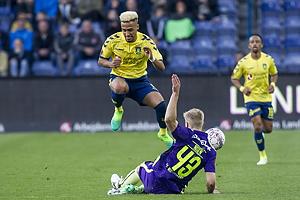Hany Mukhtar (Br�ndby IF), Rasmus Nissen Kristensen (FC Midtjylland)
