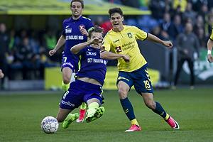 Markus Halsti (FC Midtjylland), Christian N�rgaard (Br�ndby IF)