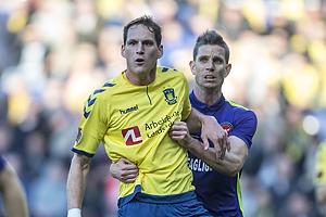 Benedikt R�cker (Br�ndby IF), Jonas Borring (FC Midtjylland)