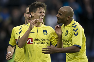 Christian N�rgaard, m�lscorer (Br�ndby IF), Rodolph William Austin (Br�ndby IF)