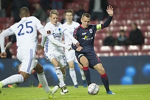 Kasper Kusk (FC K�benhavn), Danny Olsen, anf�rer (Agf)