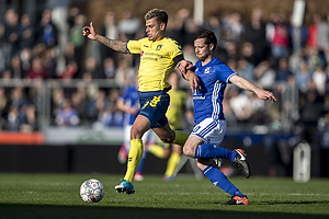 Jan Kliment (Br�ndby IF), Uidentificeret person (Lyngby BK)