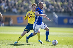 Zsolt Kalm�r (Br�ndby IF), Uidentificeret person (Lyngby BK)