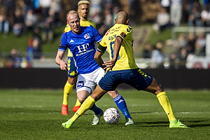 Uidentificeret person (Lyngby BK), Rodolph William Austin (Br�ndby IF)