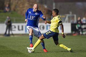 Jeppe Brandrup (Lyngby BK), Lebogang Phiri (Br�ndby IF)