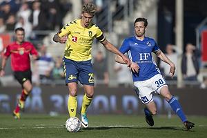 Jan Kliment (Br�ndby IF), Hallgrimur Jonasson (Lyngby BK)