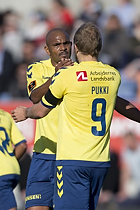 Teemu Pukki, m�lscorer (Br�ndby IF), Rodolph William Austin (Br�ndby IF)