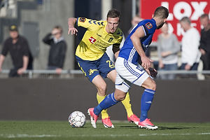 Gustaf Nilsson (Br�ndby IF), Uidentificeret person (Lyngby BK)