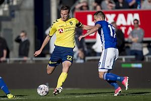 Gustaf Nilsson (Br�ndby IF), Casper H�jer Nielsen (Lyngby BK)