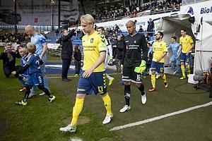 Johan Larsson, anf�rer (Br�ndby IF), Adam Larsen Kwarasey (Br�ndby IF)