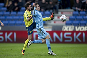 Frederik Holst (Br�ndby IF), Uidentificeret person (Randers FC)