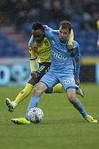 Lebogang Phiri (Br�ndby IF), Nicolai Poulsen (Randers FC)