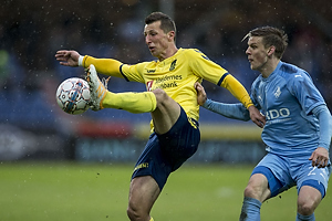 Kamil Wilczek (Br�ndby IF), Kasper Enghardt (Randers FC)