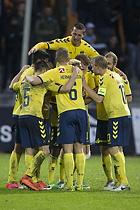 Kamil Wilczek (Br�ndby IF), Hj�rtur Hermannsson (Br�ndby IF), Johan Larsson, anf�rer (Br�ndby IF)