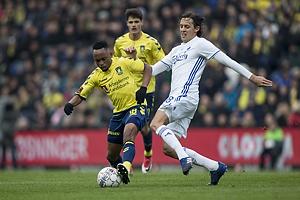 Lebogang Phiri (Br�ndby IF), Uros Matic (FC K�benhavn)