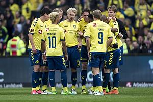 Johan Larsson (Br�ndby IF), Benedikt R�cker (Br�ndby IF), Hany Mukhtar (Br�ndby IF), Teemu Pukki (Br�ndby IF)