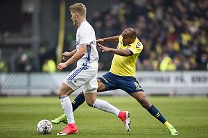 Andreas Cornelius (FC K�benhavn), Rodolph William Austin (Br�ndby IF)