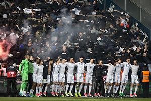 FCK-spillere jubler med sine fans