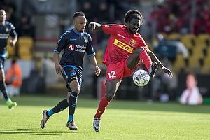 Lebogang Phiri (Br�ndby IF), Ernest Asante (FC Nordsj�lland)