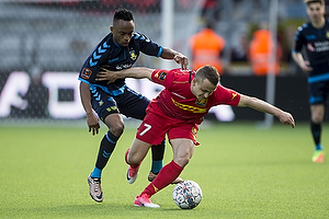 Lebogang Phiri (Br�ndby IF), Stanislav Lobotka (FC Nordsj�lland)