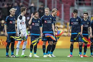 Johan Larsson (Br�ndby IF), Frederik R�nnow (Br�ndby IF), Frederik Holst (Br�ndby IF), Hj�rtur Hermannsson (Br�ndby IF), Paulus Arajuuri (Br�ndby IF), Christian N�rgaard (Br�ndby IF)
