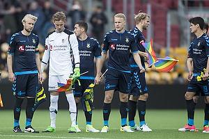 Johan Larsson (Br�ndby IF), Frederik R�nnow (Br�ndby IF), Frederik Holst (Br�ndby IF), Hj�rtur Hermannsson (Br�ndby IF), Paulus Arajuuri (Br�ndby IF)