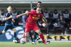 Stanislav Lobotka (FC Nordsj�lland), Lebogang Phiri (Br�ndby IF)