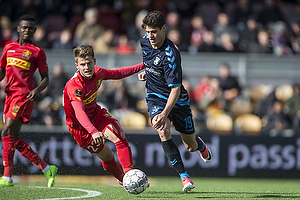Mathias Jensen (FC Nordsj�lland), Christian N�rgaard (Br�ndby IF)