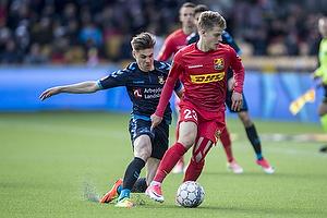 Gregor Siko�ek (Br�ndby IF), Mathias Jensen (FC Nordsj�lland)