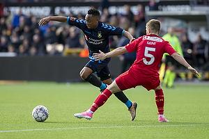 Lebogang Phiri (Br�ndby IF), Mads Mini Pedersen (FC Nordsj�lland)