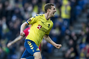 Gustaf Nilsson, m�lscorer (Br�ndby IF)