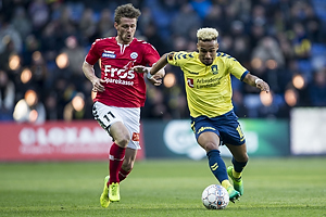 Hany Mukhtar (Br�ndby IF), Johan Absalonsen (S�nderjyskE)