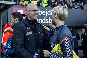 Claus N�rgaard (S�nderjyskE), Johan Larsson (Br�ndby IF)