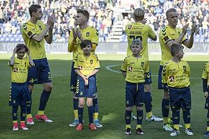 Gustaf Nilsson (Br�ndby IF), Zsolt Kalm�r (Br�ndby IF), Paulus Arajuuri (Br�ndby IF), Hj�rtur Hermannsson (Br�ndby IF)