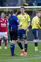 Michael Johansen, dommer, Gustaf Nilsson (Br�ndby IF)