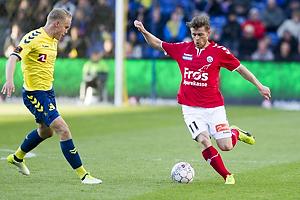 Hj�rtur Hermannsson (Br�ndby IF), Johan Absalonsen (S�nderjyskE)