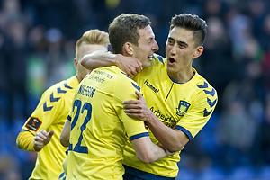 Gustaf Nilsson, m�lscorer (Br�ndby IF), Svenn Crone (Br�ndby IF)