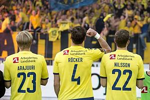 Paulus Arajuuri (Br�ndby IF), Benedikt R�cker (Br�ndby IF), Gustaf Nilsson (Br�ndby IF)