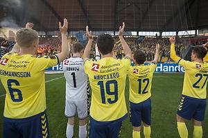 Hj�rtur Hermannsson (Br�ndby IF), Frederik R�nnow (Br�ndby IF), Christian N�rgaard (Br�ndby IF), Frederik Holst (Br�ndby IF), Svenn Crone (Br�ndby IF)