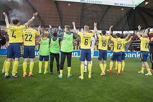 Benedikt R�cker (Br�ndby IF), Gustaf Nilsson (Br�ndby IF), Hany Mukhtar (Br�ndby IF), Zsolt Kalm�r (Br�ndby IF), Hj�rtur Hermannsson (Br�ndby IF), Christian N�rgaard (Br�ndby IF), Frederik Holst (Br�ndby IF), Johan Larsson (Br�ndby IF)