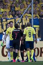 Benedikt R�cker (Br�ndby IF), Jakob Poulsen (FC Midtjylland), Rodolph William Austin (Br�ndby IF)