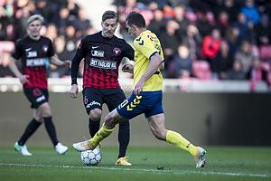 Markus Halsti (FC Midtjylland), Kamil Wilczek (Br�ndby IF)