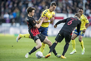 Rasmus Nicolaisen (FC Midtjylland), Kamil Wilczek (Br�ndby IF)