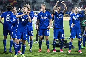 William Kvist (FC K�benhavn), Andreas Cornelius (FC K�benhavn), Andrija Pavlovic (FC K�benhavn), Nicolai Boilesen (FC K�benhavn)