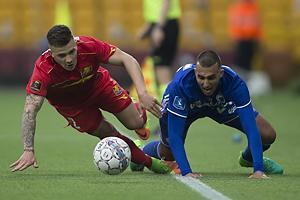 Karlo Bartolec (FC Nordsj�lland), Youssef Toutouh (FC K�benhavn)